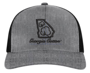 Heather Gray Georgia Cotton Apparel Trucker Hat