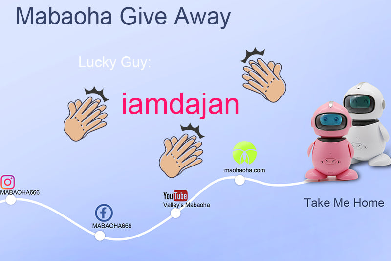 Mabaoha Give Away Announcement