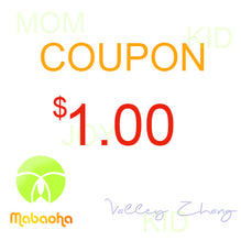 Mabaoha 1 $ Coupon,only available in Mabaoha Store