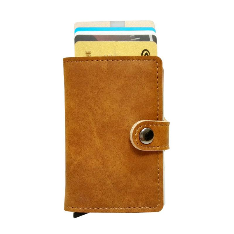 Premium Pop-out RFID cards organzier, smart wallet