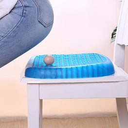Ergonomic Elastic Gel Seat Cushion TPE Silicone Cooling Mat