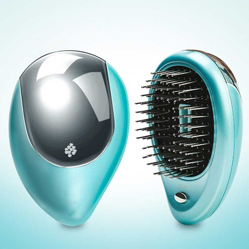 Mabaoha -ic08 Portable Electric Ionic Hairbrush - Mabaoha
