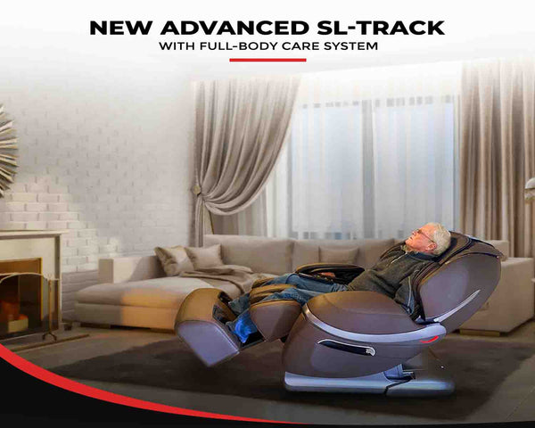 L track and S track Massage Chair