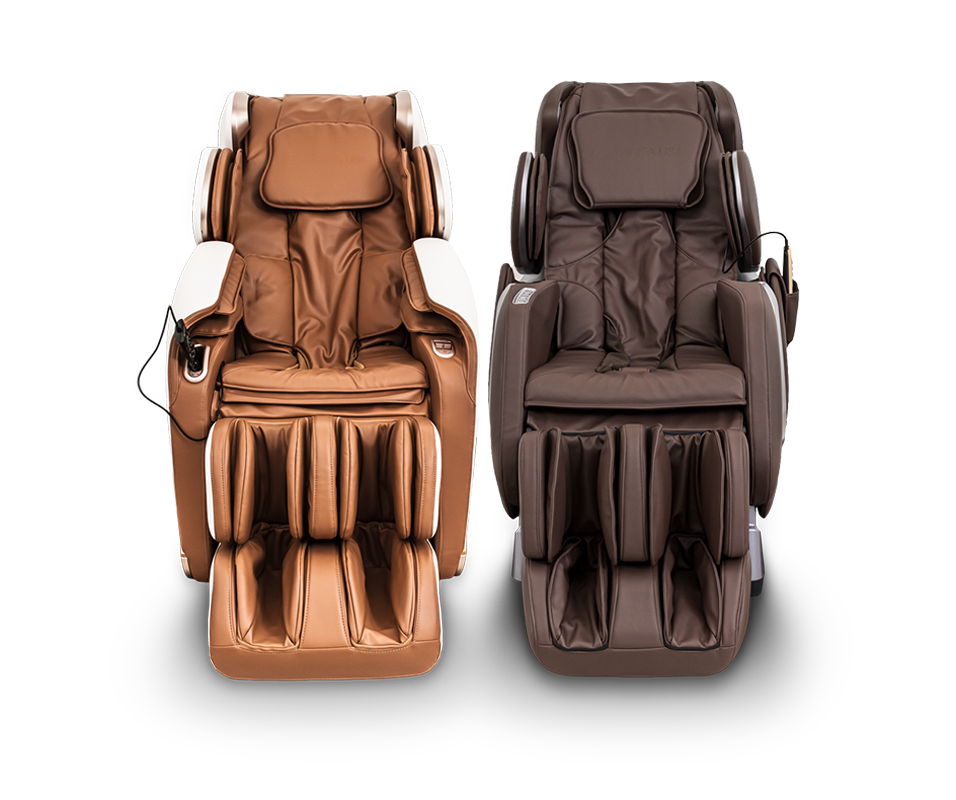 Massage Chair in Brown Color