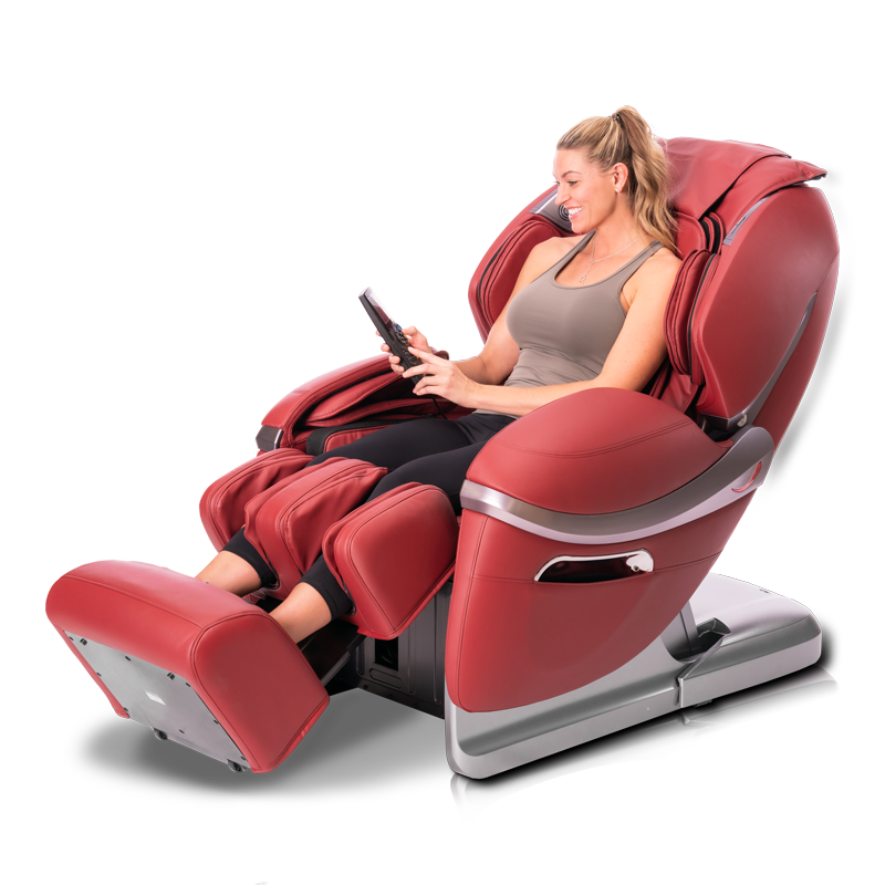 Red Massage Chair for back pain
