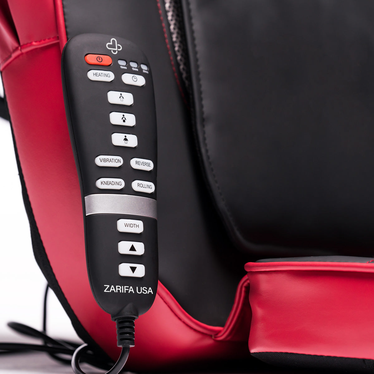 back massager with heat and vibration