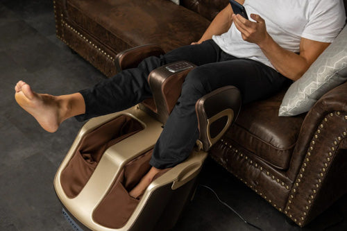 Foot Massager with Hinge Swing Feature