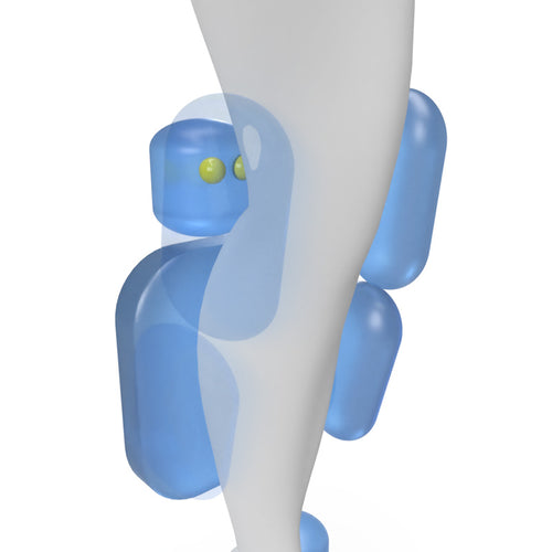 CALVES AND THIGH AIRBAG in Foot Massager