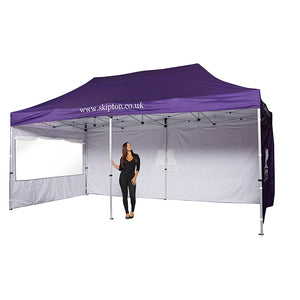 6m x 3m Classic Marquee (Roof, Valance & 3 Walls)