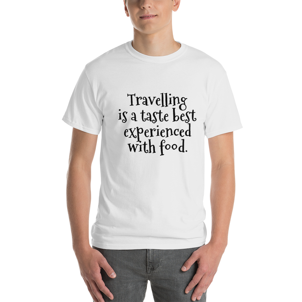 Travelling is a taste best experienced with food
