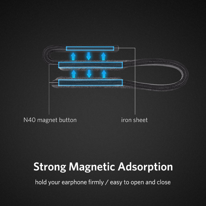 Cable Organizer Leather Earphone Cable Winder for Earphones USB ...