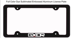 GXOR Aluminum License Frame