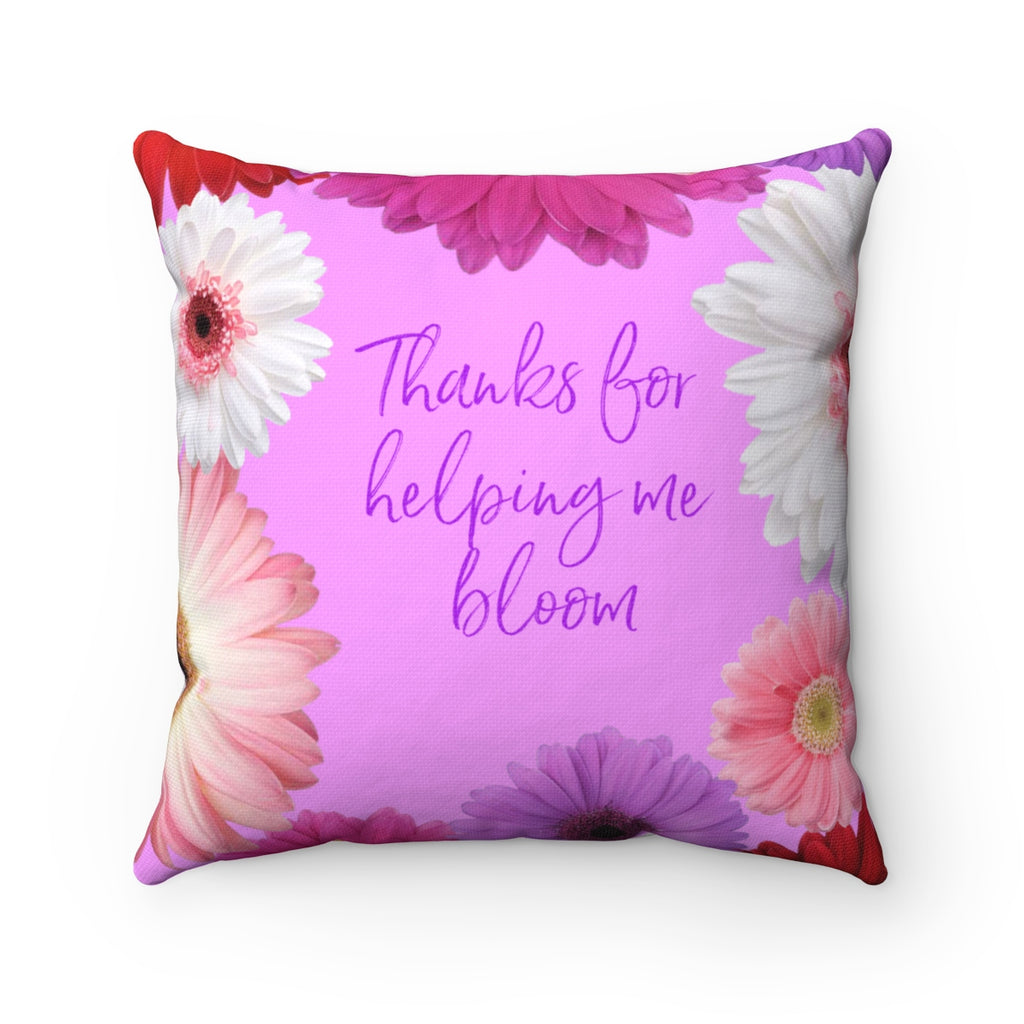 The Thankful Square Pillow