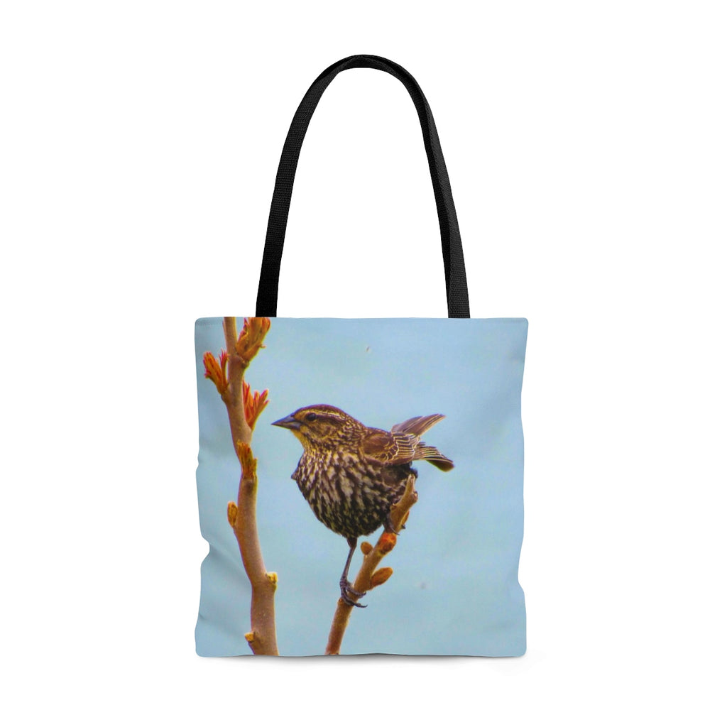 Bird at Rest Tote Bag