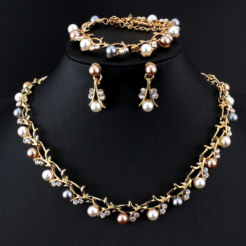 Banquet Pearl Jewelry Set - Bonny Planet