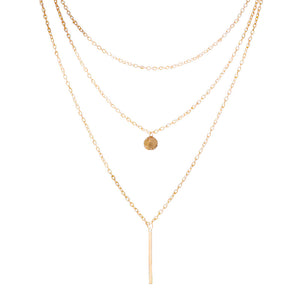 Multi layer Collier Necklace - Bonny Planet