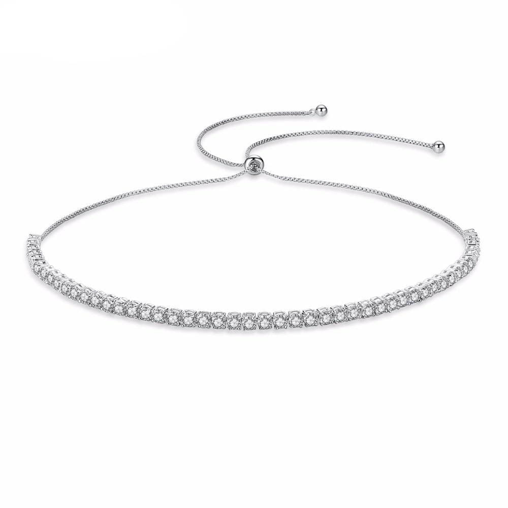 Crystal Paved Choker Necklace