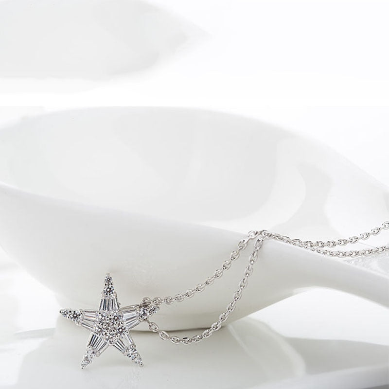 Crystal Star Pendant Necklace - Bonny Planet