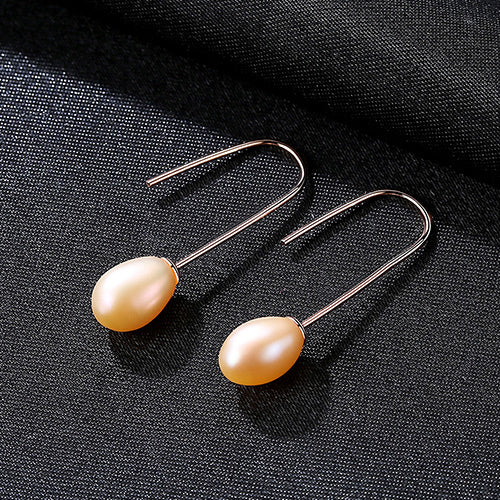 Freshwater Pearl Hook Earrings - Bonny Planet