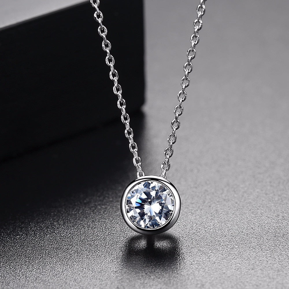 Solitaire Pendant Necklace - Bonny Planet