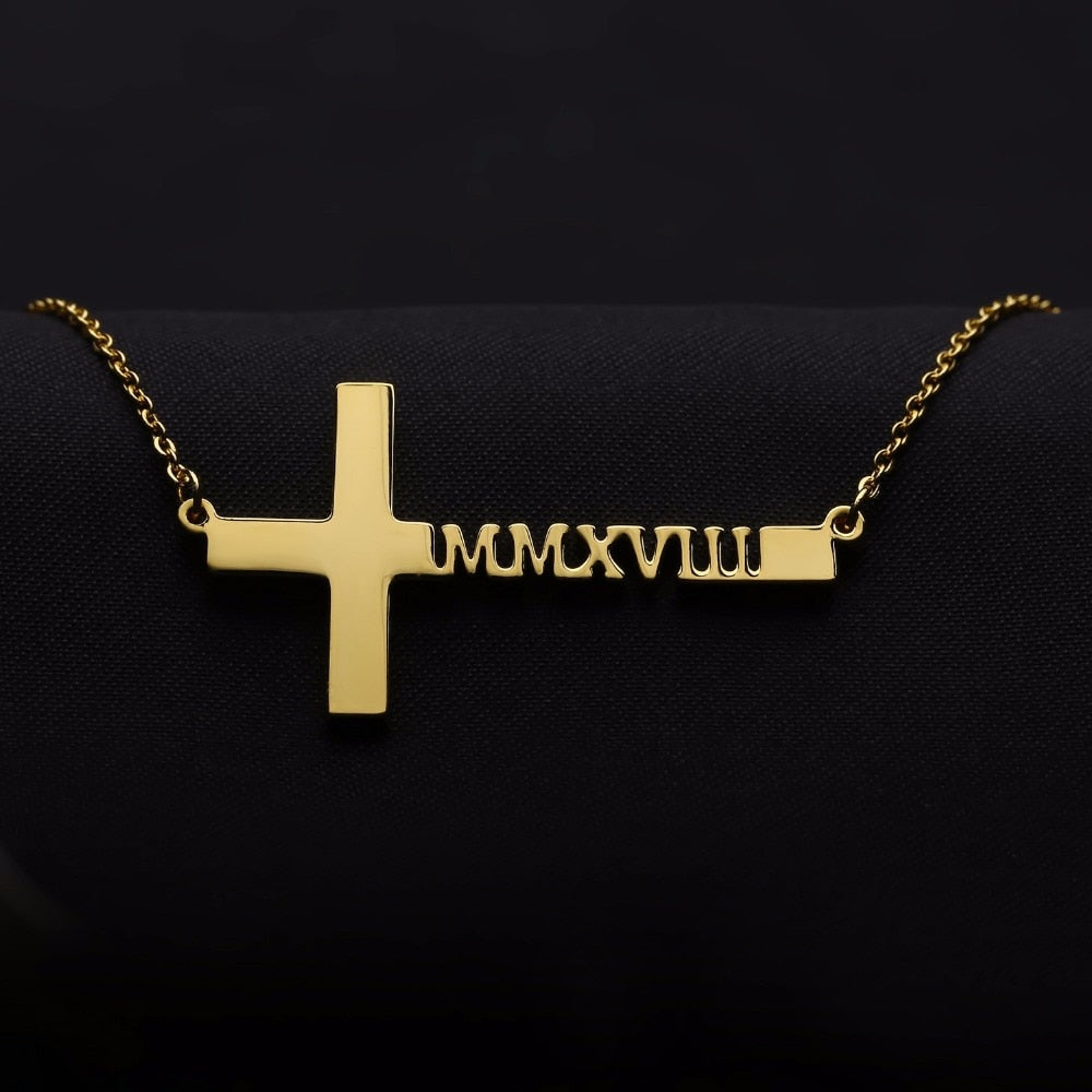 christian name necklace