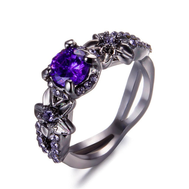 Authentic Crystal Flower Ring - Bonny Planet