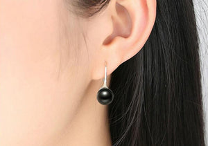Authentic Pearl Silver Earrings - Bonny Planet