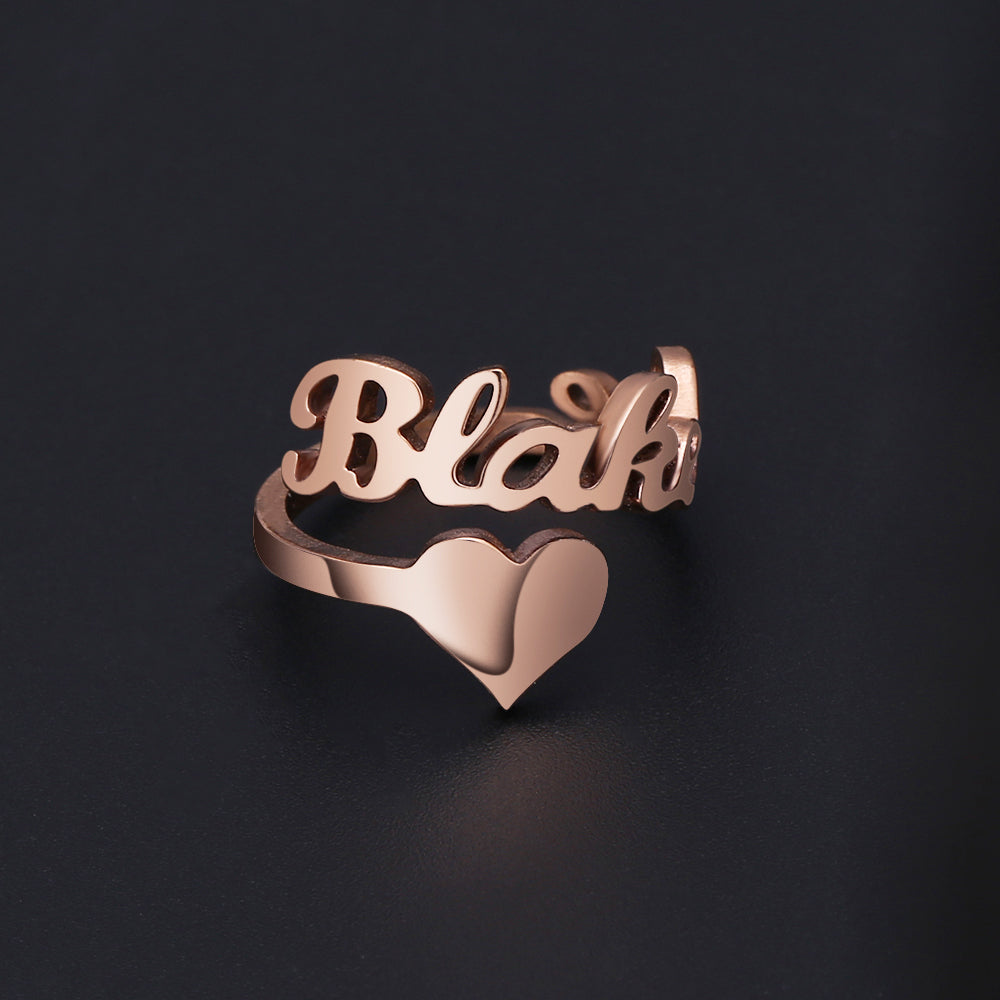 Personalized Name Ring - Bonny Planet