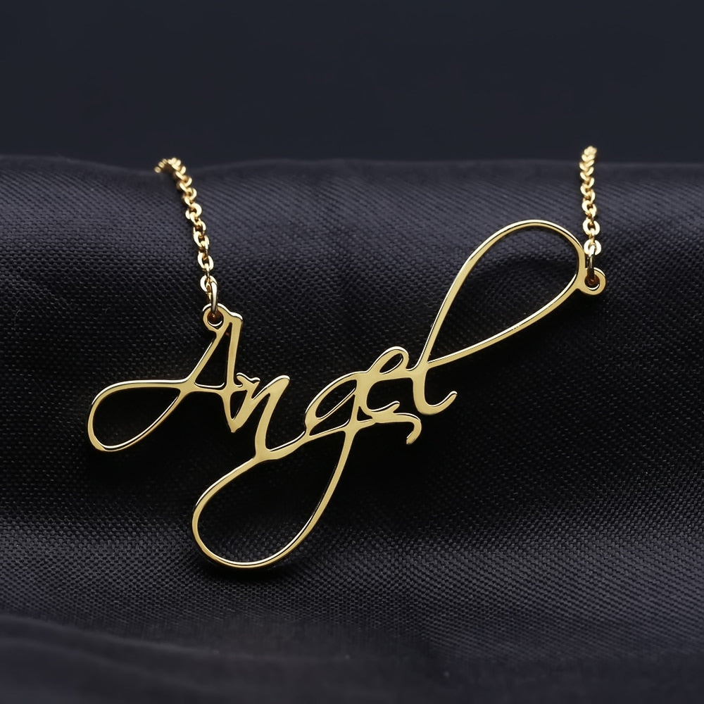 Cursive Name Necklace - Bonny Planet