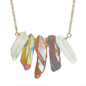 Irregular Stone Set Necklace - Bonny Planet