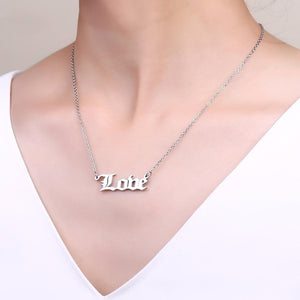 Old English Personalized Name Necklace - Bonny Planet