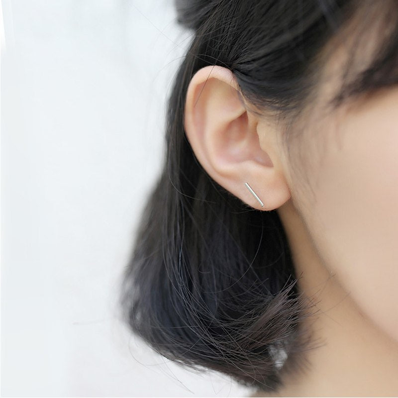 Trendy Minimalist Stud Earrings