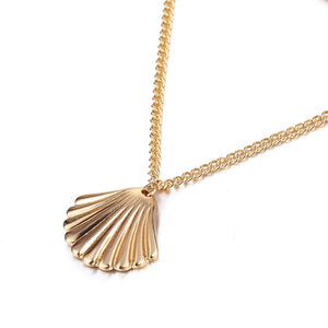 Coffee Bean Trivia Shell Necklace - Bonny Planet