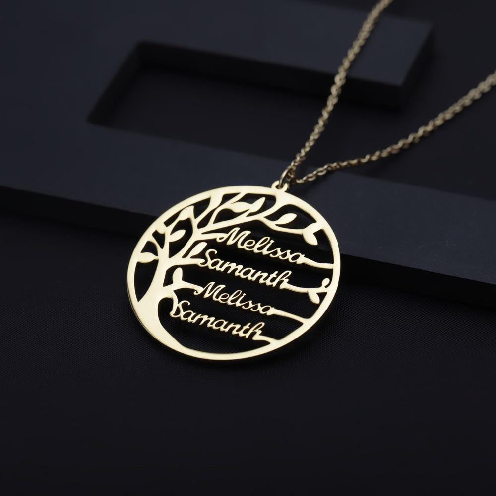 Family Tree Necklace - Bonny Planet