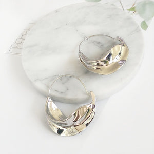 Irregular Leaf Trendy Earrings - Bonny Planet