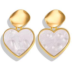 Trendy Fashion Gold Earrings - Bonny Planet