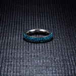 Authentic Blue Crystal Ring - Bonny Planet