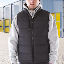 Castle Clothing Fortress Carlton Bodywarmer Black 2230