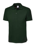 Uneek Classic Polo Shirt Bottle Green UC101