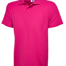 Uneek Classic Polo Shirt Hot Pink UC101