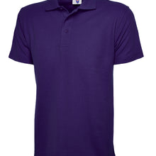 Uneek Classic Polo Shirt Purple UC101