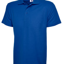 Uneek Classic Polo Shirt Royal Blue UC101