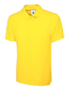 Uneek Classic Polo Shirt Yellow UC101