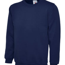 Uneek Classic Sweatshirt French Navy UC203