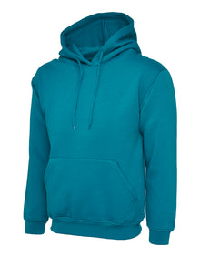 Uneek Classic Hooded Sweatshirt Jade UC502