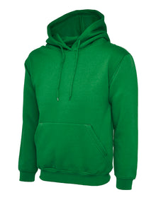 Uneek Classic Hooded Sweatshirt Kelly Green UC502