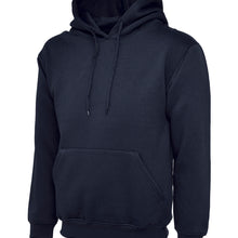 Uneek Classic Hooded Sweatshirt Navy UC502