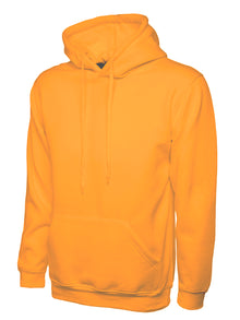 Uneek Classic Hooded Sweatshirt Orange UC502