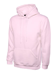 Uneek Classic Hooded Sweatshirt Pink UC502