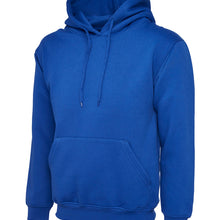 Uneek Classic Hooded Sweatshirt Royal Blue UC502